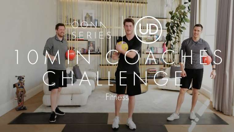 8.10min Coaches Challenge with United Dragons NEW