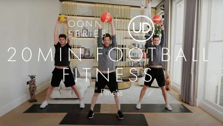 9.20min Football Fitness with United Dragons NEW